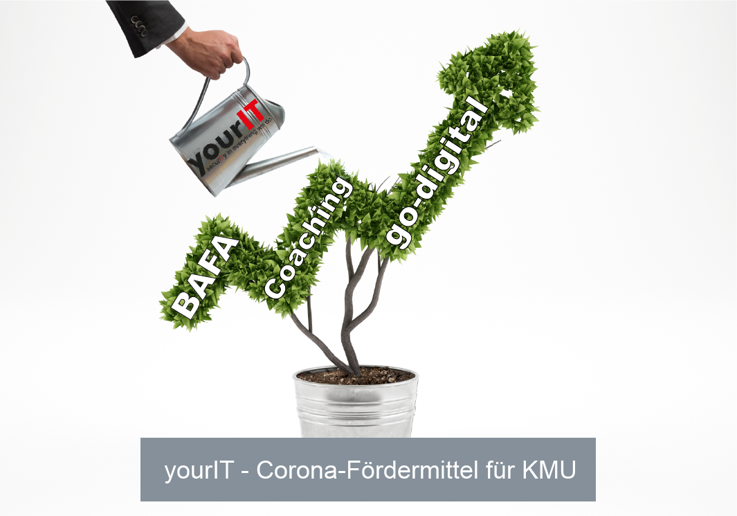 yourIT Corona Fördermittel für KMU BAFA Coaching go digital